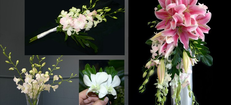 Lily and Orchid Wedding