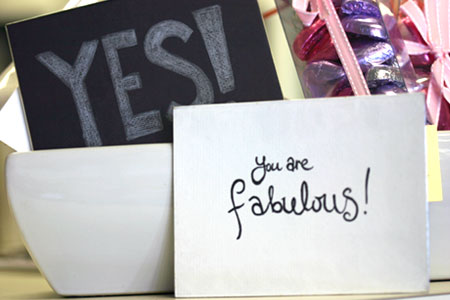 text card you are fabulous