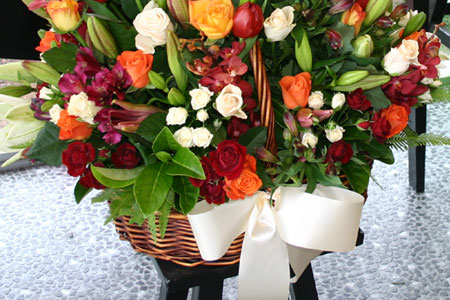 Gold COast Florist Flowers Delivered Floral Basket