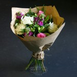 pretty-posy-local-flowers-brown-paper