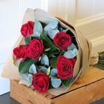 rose bouquet adams garden florist