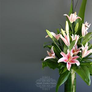 vase-lily-pink