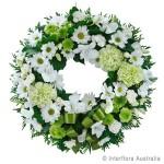 white-floral-wreath-round