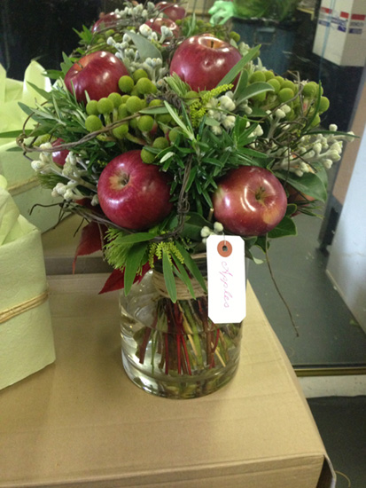 parkwood florist apple bouquet