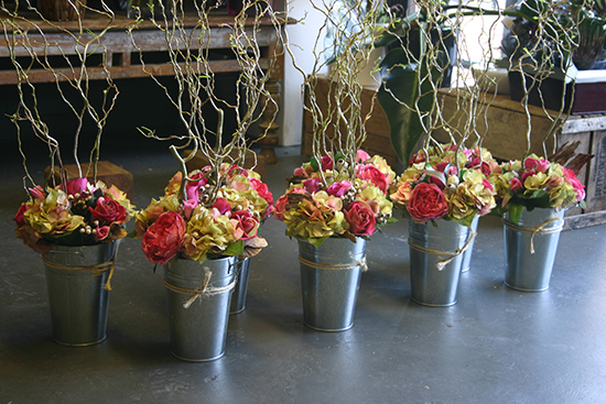 rustic-silk-flower-arrangements