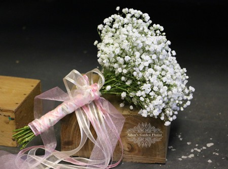 baby's breath bouquet gold coast parkwood florist wedding