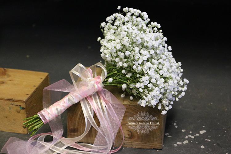 baby's breath bouquet gold coast parkwood florist wedding