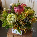 native flower box arrangement