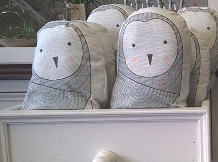 owl cushion soft toy gift gold coast