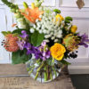 fishbowl florals mixed flowers Gold Coast