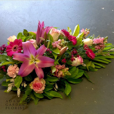 pink flowers for funeral gold coast