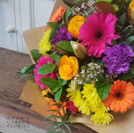 bouquet-simple bright-tones medium-large