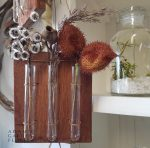 test tube hanging vase gift gold coast delivery
