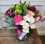 bouquet in a vase for Southport delivery