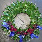 Southport Florist memorial wreath