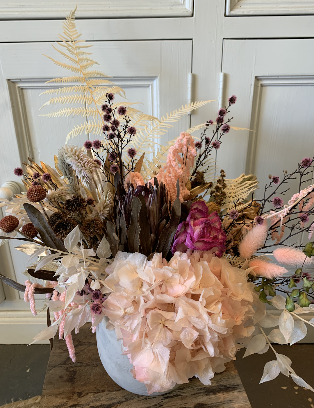 Dried Flower Bouquets Adam S Garden Florist