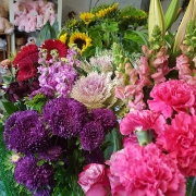 Adam's Garden Florist Gold Coast shop flower display