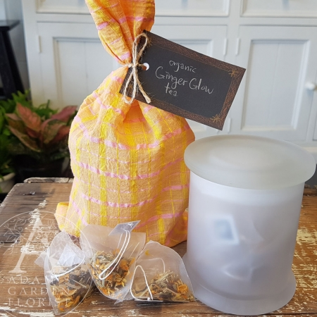 ginger-glow organic herbal tea gift Gold Coast delivery