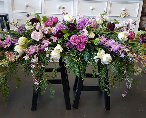 gold coast florist arbour table flowers